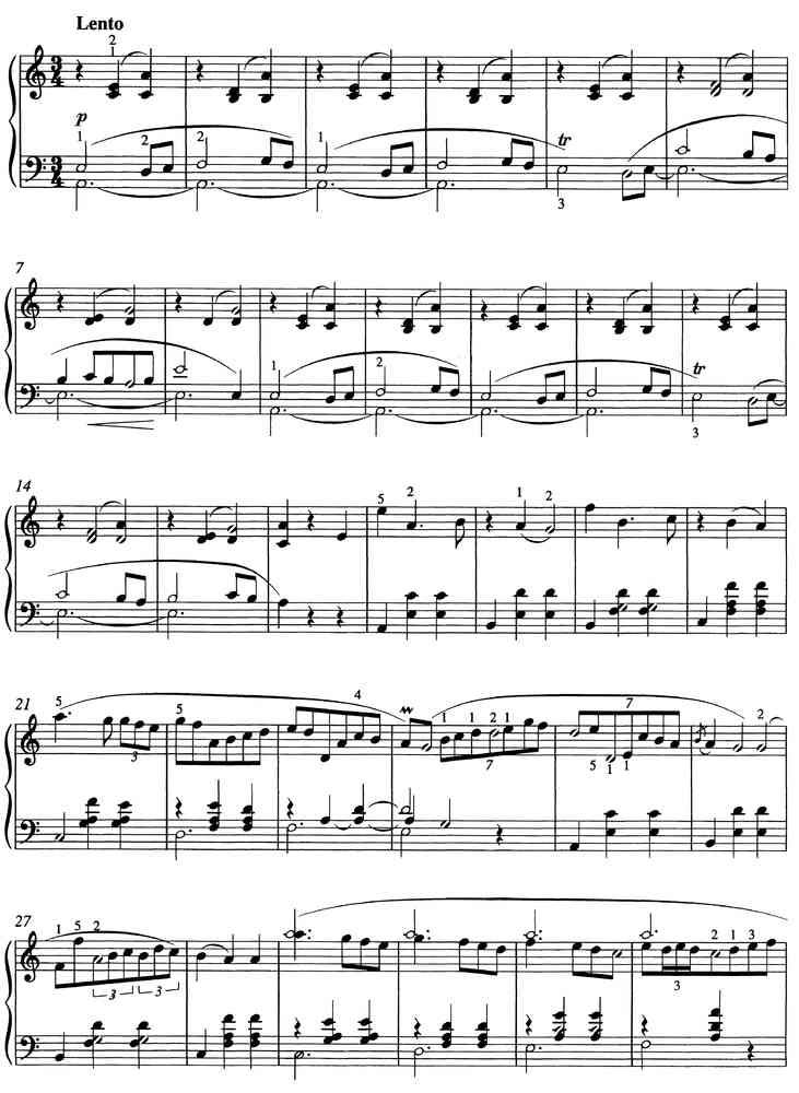 Chopin Grande Valse Brillante Opus 34 Nr 2 Piano Sheet Music